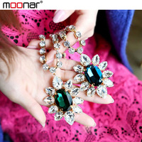 Fashion Accessories Women's  Romatic Water Drop Long Necklace Rhinestone Chain Halloween Christmas Gift PJ099