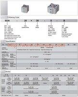 SSA-20*10 compact pneumatic cylinder