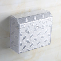 Acrylic tissue box paper box bathroom towel rack waterproof toilet paper box