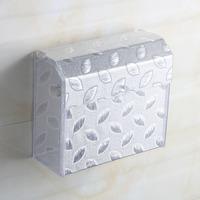 Acrylic tissue box paper box bathroom towel rack waterproof toilet paper box