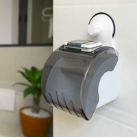 Toilet paper box suction cup waterproof paper towel holder health carton suction cup roll box waterproof tissue box