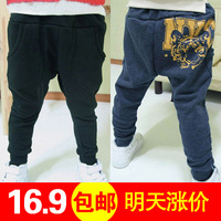 Children's clothing 2013 autumn child boy autumn male child baby tiger harem pants long trousers 0202