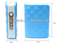 Portable wallet power bank with LED torch