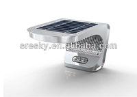 Led outdoor motion sensor light sresky ESL-08 Super solar wall light