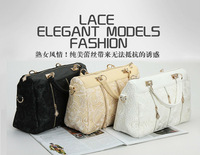 Korean Women Lace Bag Sexy Tote Crossbody Shoulder Purse Handbag Tote Bags Boston Hotsale New wholesale and dropship