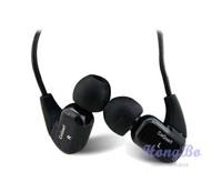 Cogoo t02 in ear earphones sports earphones sound insulation earplugs mobile phone mp3 earphones free shipping