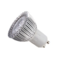 gu10 spotlight led 3w AC85-265V three years warranty  CE Rohs 20pcs/lot