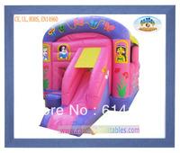 New arrive 0.55mm PVC tarpaulin Princess Inflatables Bouncers/Inflatable games of Princess Bouncy Castles