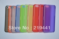 20pcs For iPhone 5C Case Clear Hard Plastic Back Cover Ultra Thin 0.5mm Cases For iphone5C Free Shipping