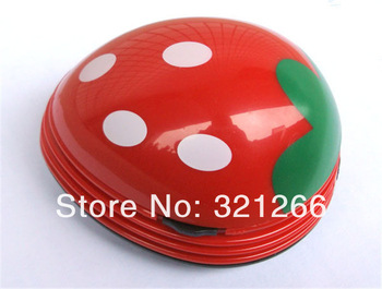 Good!Mini Ladybug Desktop Coffee Table Vacuum Cleaner Dust Collector for Home Office 48pcs Via DHL
