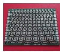 10pcs/lot Double faced tin universal board 6cmx8cm experimental board bread board hole board 2.54mm