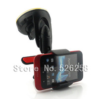 Universal Car Mount GPS Stand Holder Kits Cell Phone FOR Sony Xperia TIPO ST21i free shipping