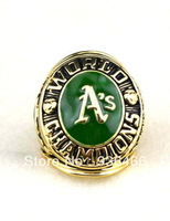 Free shipping !Replica Oakland athletics A'S RINGS Baseball World Championship Ring for men as gift