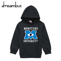 Children's clothing monster inc university sweatshirt outerwear child sweatshirt gsdx 010 mike wazowski
