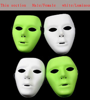 Factory Direct Sale ShengQuan (Thin section Luminous )JabbaWockeeZ Mask Dancers Qi Dance Ghost Step Dance Hip-hop White