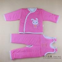 2013 baby wadded jacket child baby set male girls clothing winter cotton-padded jacket