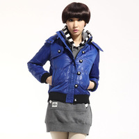 Tonlion winter women's hooded wadded jacket women's female wadded jacket outerwear