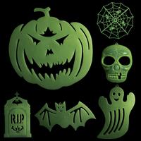 2013 Halloween decoration haunted house props halloween decoration luminous stickers pumpkin  ,free shipping