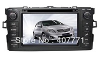"Free shipping!! 7"" android4.0, 2 din 3G wifi Car DVD GPS special for TOYOTA AURIS / COROLLA HATCHBACK / COROLLA 2012-"