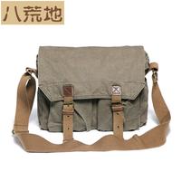 canvas one shoulder bag messenger bag men's casual bag messenger bag fashion travel bag