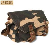 canvas bag one shoulder cross-body messenger bag casual bag vintage bag backpack 2361