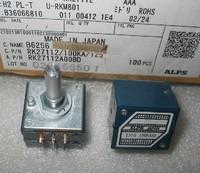 Japan Original ALPS RK27 type potentiometer 50KA Round handles duplex volume potentiometer,free shipping
