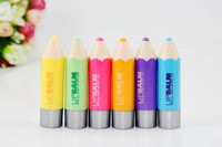 12pcs/lot lovely colorsless Children's lip balm
