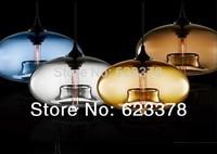 free shipping Pyles Glass Pendant Lamp 110V-240V Modern Pendant Lights Dining Room Fashion Design Lighting Fixture