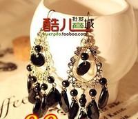 2013 Winter Accessories Fashion Accessories Vintage Cutout Drop Tassel Earrings