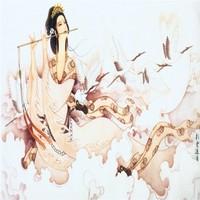 Fashion oil painting classic beauty vintage beijingqiang sofa mural wallpaper
