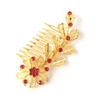 Depreciating squid gold red diamond hair stick the wedding hair accessory costume cheongsam hair accessory accessories