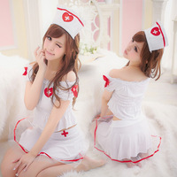 Wholesell and Retail  N002- Sexy  costume Exotic Apparel - Costumes -  White angel Nurse uniform sexy free size