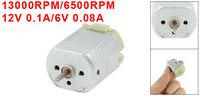 13000RPM/6500RPM 12V 0.1A/6V 0.08A High Torque Magnetic Electric DC Motor