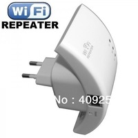 Free Shipping, Wireless-N Repetidor Wifi Wireless 300mbps Button WPS Wifi Repeater Network Router Range Expander 300M 4 LED