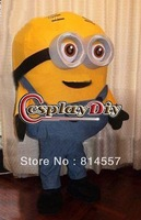 Hot Sale Big Eyes Minions Minion Mascot Costume Halloween gift costume characters hot sale