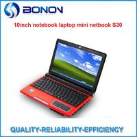 Cheap price 10.2 inch mini Laptop computer with Intel ATOM dual-core D2500 1.86Ghz CPU, 4G RAM&320G HDD,win7 OS WIFI webcam