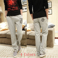 Free Shipping 2013 New Men Casual Sports Pants/loose male trousers/Loungewear and nightwear/Health pants/Plus size M-XXL/4 color