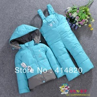 Free shipping Girls Boys Winter Coat Jacket Children Down Sets Mitch Infant Baby Children's Winter Warm clothing