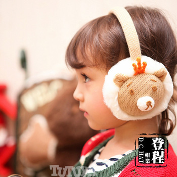 2013 child winter thermal earmuffs shaggier ear earmuffs
