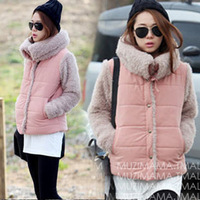 New winter fashion women's clothing Nagymaros collar plush velvet lapel warm lamb's wool coat jacket coat