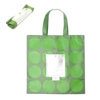2013 New fashion High quality Nylon bag woman's handbag Grass green dot  foldable shopping bags wholesale