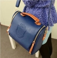 2013 Korea Fashion Handbag PU Leather Ladies Hand Bag Shoulder Bag Cross Body Bags Women