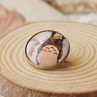 Min Order $15(Can Mix Item)2013 Fashion imitation Time Gem Brooches In Cartoon Cat Personality