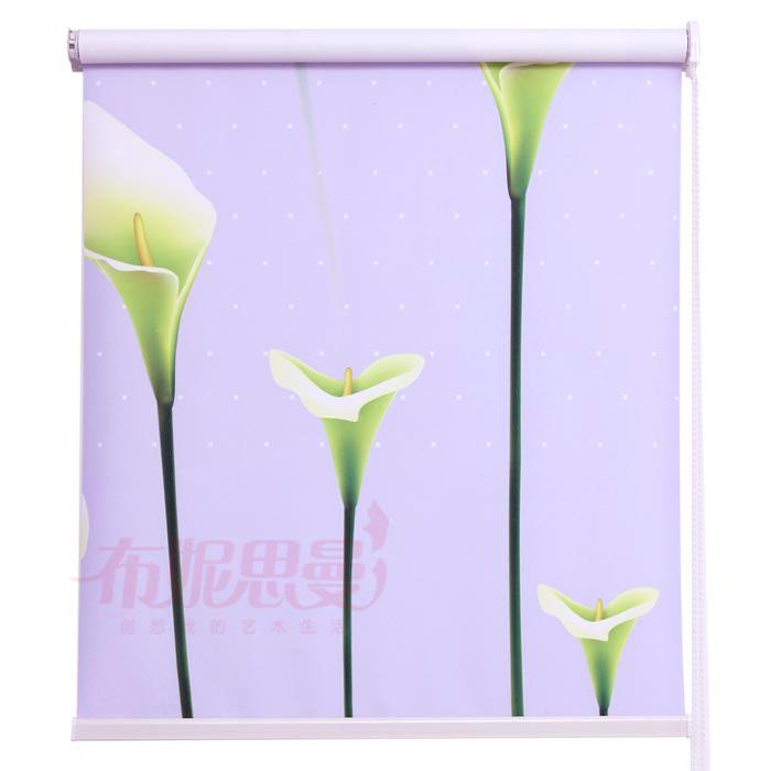Cópia da flor cortina do obturador banheiro de persiana sombra cortina sol shading 1 M(China (Mainland))