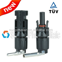 TUV&UL approved ip68 30A rated current mc4 connector