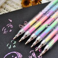 Korea stationery the trend of the doodle pen unisex pen pastels, pen c09