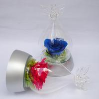 Hua he fresh preserved flower small angel light base gift box