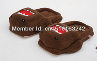 Wholesale and Retail HIgh Quality Cute Plush Slippers Domo Kun slippers 11 '' Free shipping