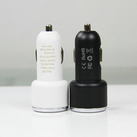R2-2.1A LED 2-Port Dual USB Car Charger for iPhone 4s iPod ipad galaxy all phone factory directly wholesale