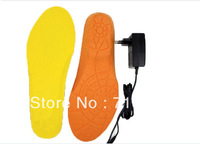 Electric heating insoles with 1800mmAh Li-battery rechargeable heating insoles  heated winter outdoor insoles Free Shipping